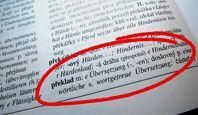 Übersetzungen Tschechisch Deutsch